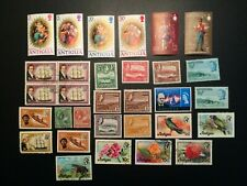 Postage Stamps of Antigua MNH/ MH/ Used