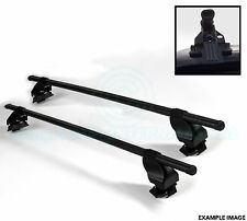 2x Oval Roof Bars with Mounts - For Ladders Bike Ski mounts etc By SIEPA - F18