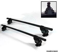 2x Oval Dach Bars mit halterungen - Für Leitern Fahrrad Ski usw. Von SIEPA - F18