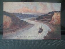 117. The River from Clifton Downs By C.W. Faulkner & Co. Ltd Written On