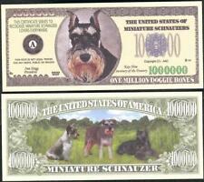 MINIATURE SCHNAUZERS Million Note ~  Fantasy Note ~ Miniature Schnauzer