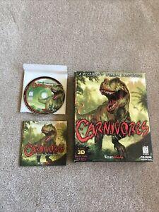 CARNIVORES, 1998 PC BIG BOX GAME