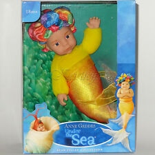 ANNE GEDDES DOLL 'Under the SEA' collection NEW in a Gift Box BABY MERMAID 9''