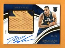 TREY LYLES 2015-16 IMMACULATE AUTOGRAPH LETTER PATCH ROOKIE # / 25 JAZZ NUGGETS