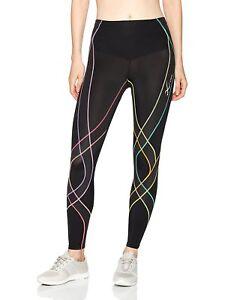 CW-X Endurance Generator Women's Tights 129809-962 Black/Pastel Rainbow Small