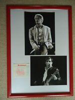 THE WHO CONCERT TICKET 1989 +2 DALTREY & TOWNSHEND PHOTOS UNIQUE IMAGES1982 GIG