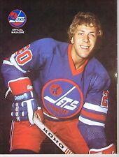 1975 Winnipeg Jets Home vs New England Whalers WHA World Hockey Assn Program