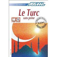 ASSIMIL Le TURC sans peine LIVRE + CD NEUFS