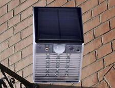 Waterproof Solar Motion Sensor LED Light with Security Camera