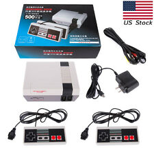 USA STOCK  TV Classic Video Game Console TV Built-in 500 Games 2 Controllers#C