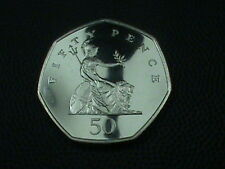 GREAT  BRITAIN    50 pence    1998   PROOF    ,   NO  YELLOW  TONE
