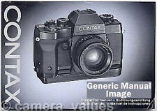 Contax 139 Winder Instruction Book, More Manuals Listed