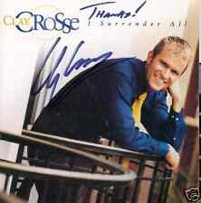 Clay Crosse I Surrender All Autographed Signed Christian CD NEW