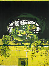 """Le crapaud (The Toad)"" Lithographie signée de Graham SUTHERLAND"