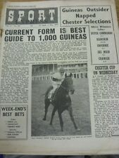 """29/04/1955 Revista Sport Express: Vol.17, No.381 - """"Guía de forma actual es mejor"""