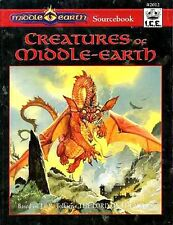 CREATURES OF MIDDLE-EARTH #2012 EXC+! MERP J.R.R. Tolkien Module Monster Manual