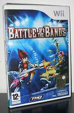 BATTLE OF THE BANDS GIOCO NUOVO PER NINTENDO WII  EDIZIONE UK PRIMA STAMPA PG545