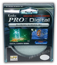 Kenko 52mm Pro1 Digital R-Cross Screen 4x Star Filter