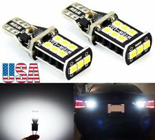US 2Pcs T10 T15 Backup Reverse LED Light No Error Bulbs for 05-16 Subaru Outback
