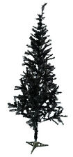 CHRISTMAS TREE BLACK/WHITE/GREEN WITH PLENTY TIPS 3FT/5FT/6FT TRADITIONAL TREE