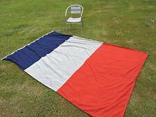 BEAU DRAPEAU  PAVILLON FRANCE MARINE NATIONALE en COTON #.8