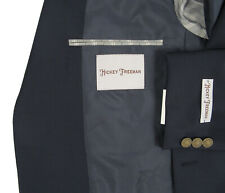 NEW $995 Hickey Freeman Sportcoat! 41 Long  Navy  Lindsey USA Made  Coin Buttons