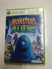 Monsters vs. Aliens - XBOX 360 Brand New Factory Sealed