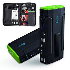 Heavy Duty Mobile 12800mAh USB 12V Emergency Jump Starter Power Bank Travel Kit