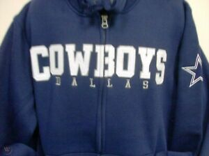 Dallas Cowboys NFL Team Sherpa Full Zip Jacket Men's Large