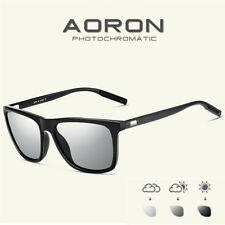 Men's Aluminium Polarized Photochromic Sunglasses Chameleon Lens Driving Glasses