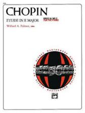 Etude in E Major, Op.10, No.3; Chopin, Frederic, Piano Solo, ALFRED - 2151