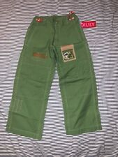 NWT Oilily Awesome Boys Secret Life System Green Pants 6-7 Euro 122 Super Cool
