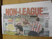 30/08/2015 The Non-League Paper: Issue No 805. Footy Progs/Bobfrankandelvis, exp