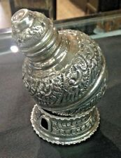 Hand Made Solid Silver Capacity of Bean Fine Silver s990