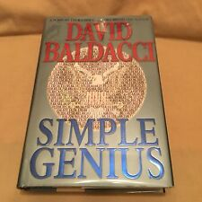 David Baldacci - SIMPLE GENIUS - First Edition First Issue - Author SIGNED 2007