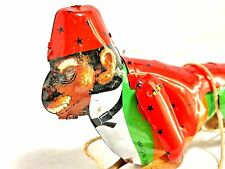 Tin Litho Climbing Monkey Jako Zippo Trixo Reproduction Fez Hat Loose EUC