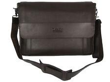 Loake Horseguards Leather Briefcase Messenger Bag Bag Lap Top