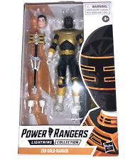 "New listing Hasbro Power Rangers Lightning Collection 6"" Zeo Gold Ranger Action Figure"
