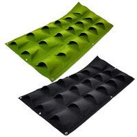 18 poche verticale verte accrocher mur jardin plante planter sac