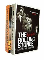 The Rolling Stones 2 Book Pack Biography Music Fifty Years & Mammoth Book New
