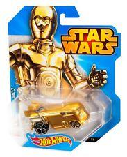 Hot Wheels Star Wars Voiture - C-3PO - Asst. CGW35 CGW45 - Modèle Moulé