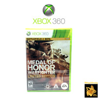 Limited Edition Medal of Honor Warfighter  (2012) Xbox 360 Game Brand New Sealed