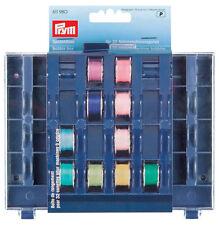 Prym Bobbin box for 32 bobbins. Bobbin Storage
