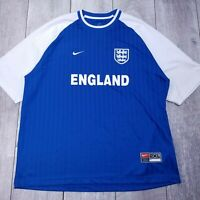 Nike Team England Soccer Football Jersey Mens XXL 2XL Short Sleeve P126