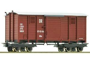 ROCO 34622, Ho-e ,  Narrow Gauge , Covered goods wagon, DR