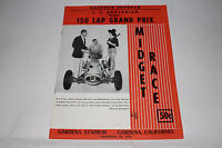 Midget Auto Racing Program, Gardena Stadium, California November 24, 1955