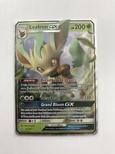NEW Pokemon Leafeon GX 13/156 Ultra Prism ENGLISH NM IN-HAND