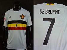 adidas KBVB Belgium Euro 2016 Away Shirt Kevin DE BRUYNE 7 SIZE XL (adults)