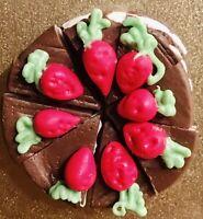 3D Fridge Magnet Lot Handcrafted 👻🧲 (8) Cake Slices