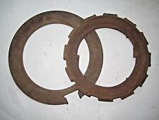 VINTAGE JOHN DEERE CAST IRON H948B SEED PLANTER PLATE RING & SPACER STEAMPUNK